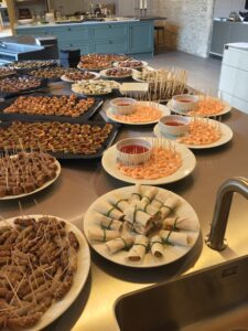Canapes for Corporate Event
